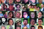 Collage di immagini raffiguranti tante persone che hanno attraversato il coma e che ne sono uscite. La maggior parte di loro sono state ospiti della Casa dei Risvegli Luca De Nigris, la struttura pubblica dell'Azienda USL di Bologna, che ne condivide gli obiettivi con l'Associazione Gli Amici di Luca