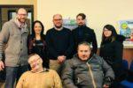 I rappresentanti della FISh Campania con l'assessore regionale Sonia Palmeri (seconda da sinistra dietro)