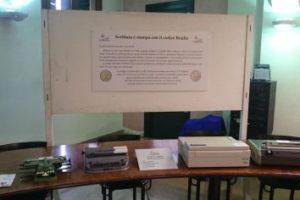 La sezione storica dedicata al Braille, all'interno della raccolta museale realizzata dalla Fondazione Lucia Guderzo
