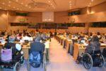 Un'immagine di repertorio del 3° Parlamento Europeo delle Persone con Disabilità, tenutosi nel 2012 a Bruxelles