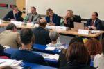 Il tavolo dei relatori del convegno di Roma durante il quale è stata illustrata la nuova norma UNI dedicata ai progettisti sociali
