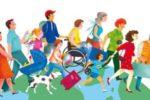 Elaborazione grafica che rappresenta il turismo per tutti