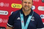 Stefano Mariani ai recenti Giochi Mondiali Special Olympics di Abu Dhabi