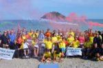 Foto di gruppo scattata ad Albenga (Savona), in occasione di una delle festee subacquee di HSA Italia degli anni scorsi