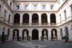 Il cortile di Palazzo Altemps a Roma