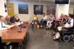 Un'immagine dell'incontro tra gli esponenti del Comitato Marchigiano per la Vita Indipendente delle Persone con Disabilità e i rappresentanti istituzionali della Regione Marche. Subito dopo è stata annunciata la nascita dell'Associazione Vita Indipendente delle Persone con Disabilità Marche, o più semplicemente AviMarche