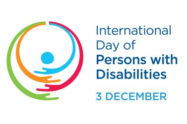Logo ufficiale della Giornata Internazionale delle Persone con Disabilità 2019