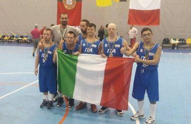 Italia campione del mondo del basket sindrome di Down 2019