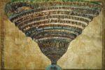 """Sandro Botticelli, """"La voragine infernale"""", disegni per la """"Divina Commedia"""", Biblioteca Apostolica Vaticana"""