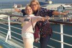 Martina Cipolla insieme alla madre Barbara