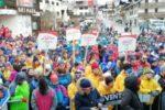 """La festosa """"invasione"""" della città dolomitica di Sappada, per i XXXI Giochi Nazionali Invernali Special Olympics (©Simone Castrovillari)"""