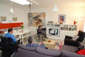 Una casa famiglia di persone con disabilità
