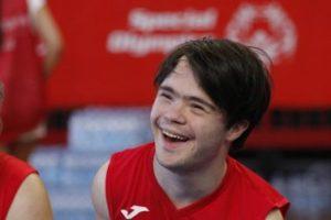 Renato, giovane atleta di Special Olympics Italia