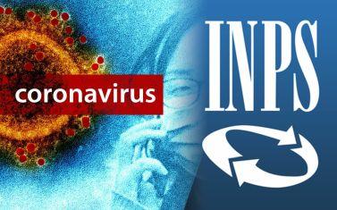 Realizzazione grafica su INPS e coronavirus