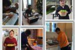 Alcuni giovani con disabilità cognitiva, coinvolti nel percorso a distanza dell'Associazione De@Esi