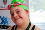Brava nuotatrice, Margherita fa parte del movimento di Special Olympics Italia, dedicato alla pratica sportiva delle persone con disabilità intellettive