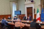 Un'immagine della riunione dell'Osservatorio Nazionale sulla Condizione delle Persone con Disabilità, presieduta dal presidente del Consiglio Conte
