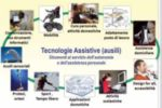 Una realizzazione grafica dedicata alle tecnologie assistive (ausili)