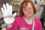 """Una delle giovani donne con sindrome di Down coinvolte nel progetto europeo """"Valueable"""""""