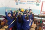"""Bimbi e bimbe delle scuole, coinvolti in Puglia, in epoca pre-Covid, nel progetto della UILDM """"A scuola di inclusione: giocando si impara"""""""