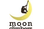 """Il logo del progetto europeo """"Moon Climbers"""", che ha prodotto la guida metodologica """"Una vita adulta per le persone con disabilità intellettiva è possibile"""""""