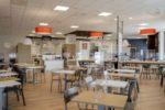 """L'interno del nuovo ristorante self service """"RITA Pieve"""" di Reggio Emilia"""