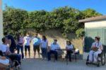 """Un'immagine dell'Assemblea """"en plein air"""" dellla UILDM di Sassari"""